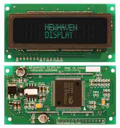 M0216SD-162SDAR8 by NEWHAVEN DISPLAY