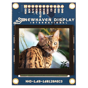 NHD-1.69-160128ASC3 by NEWHAVEN DISPLAY